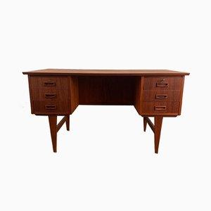 Dänischer Doppelseitiger Schreibtisch, 1960er