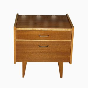 Nightstand with Drawer & Door, 1960s