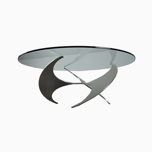 Mid-Century Propeller Coffee Table by Knud Hesterberg for Ronald Schmitt, 1960