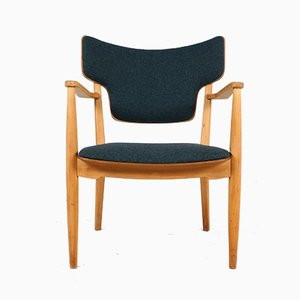 Easy Chair by Peter Hvidt & Orla Mølgaard Nielsen for Portex, 1940s