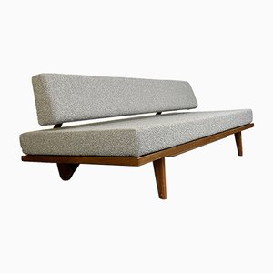 German Teak Model FH 10 Daybed by Franz Hohn for Honeta, 1950s