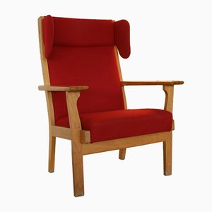 GE-181 Lounge Chair by Hans J. Wegner for Getama, 1960s