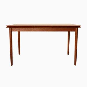 Mid-Century Danish Teak Extendable Dining Table