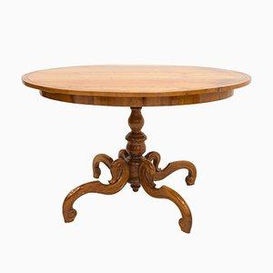 Austrian Biedermeier Dining Table, Early 19th Century