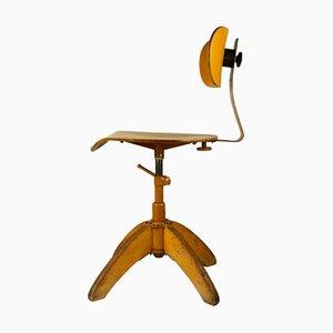 Bauhaus Height Adjustable Office Chair from Böhler, 1930s