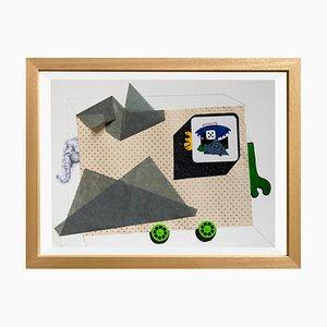 Animal de Raluca Arnăutu, Collage on Paper