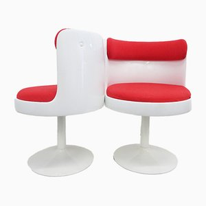 Mid-Century Space Age Tulip Chairs, Set of 2
