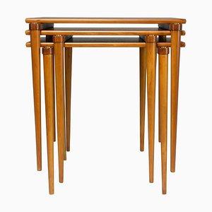 Italian Mid-Century Side Tables, 1960s, Set of 3