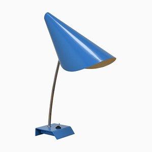 Blaue Tischlampe von Josef Hurka, 1950er
