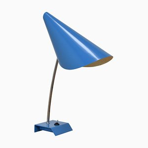 Blue Table Lamp by Josef Hurka, 1950s