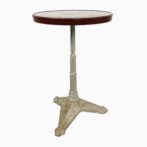 Vintage Art Deco Bistro Table with Bakelite Top