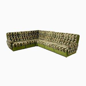 Vintage Elementar Sofa mit Rhombus Druck