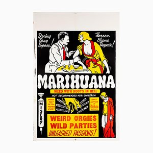 Marijuana Film Poster, 1930s