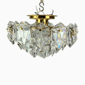 Glass Chandelier from Kinkeldey, 1960s