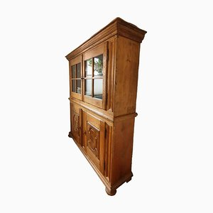 Handmade Antique Display Cabinet in Solid Wood