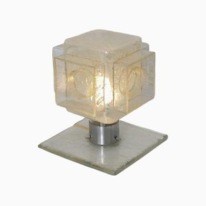 Glass Table Lamp from Poliarte, Italy, 1960s
