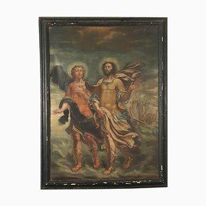 Pittura Santi Nazario e Celso, olio su tela