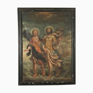 Santi Nazario & Celso Gemälde, Öl auf Leinwand