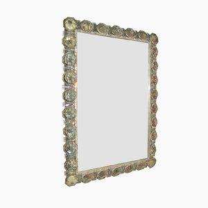 Espejo retroiluminado vintage de cristal de Bakalowits & Söhne
