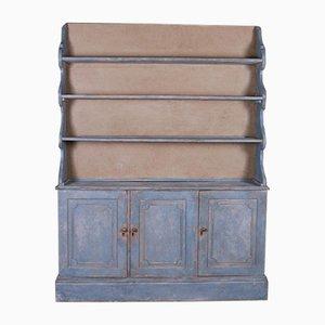 Painted Waterfall Bookcase, 1820s