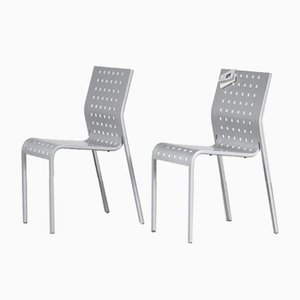 Side Chairs by Pietro Arosio for Zanotta, Italy, 1980s, Set of 2