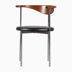 Modell 32 Stuhl von Frederik Sieck für Fritz Hansen, Dänemark, 1960er