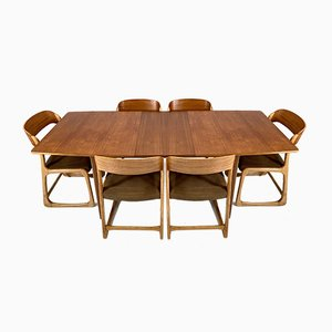 Teak Dining Table by A. H. Mcintosh, 1960s