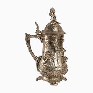 Large Silvered Bronze Mug, 1911