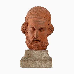 Herodotus, Sculpture in Terracotta