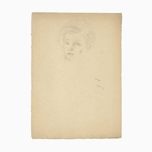 Portrait - Dessin au Crayon - 1929