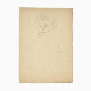 Retrato - Lápiz de dibujo - 1929