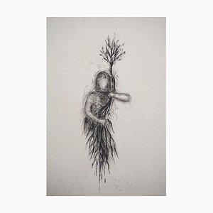 Andrea Fogli - Vierge 8 - Etching - 2010s