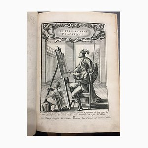 Jean Dubrenil - La Perspective Pratique - Illustrated Book - 1642