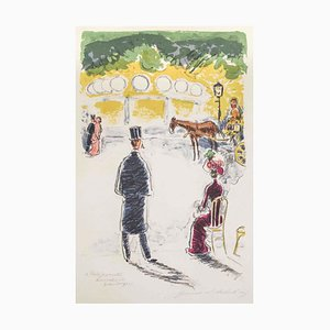 Kees Van Dongen - Au Bois - Lithografie - 1946