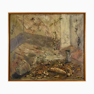 Filippo De Pisis - Composition - Pintura al óleo - 1938