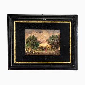 Annigoni Pietro - Landschaft - Öl auf Leinwand - Mitte des 20. Jahrhunderts
