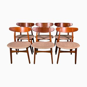 CH-30 Dining Chairs by Carl Hansen, Set of 6