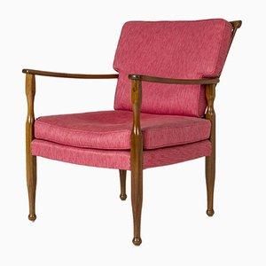 Mahogany Lounge Chair by Josef Frank