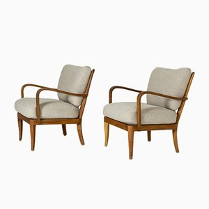 Lounge Chairs by G. A. Berg, Set of 2