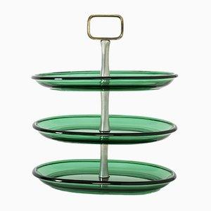 Glas Kuchenständer von Josef Frank