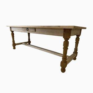 Antiker Französischer Esszimmer Esstisch aus Eiche