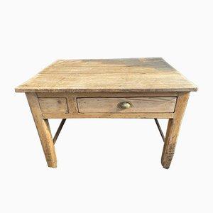 Antique Elm Kitchen Table