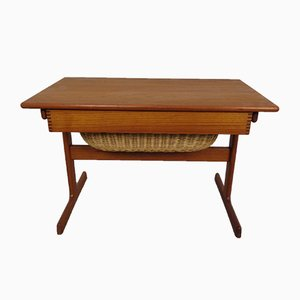 Teak Sewing Table from Vildbjerg Møbelfabrik, 1960s