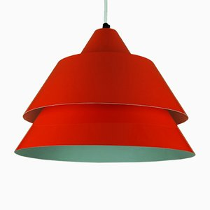 Mid-Century Zone Pendant Lamp by Jo Hammerborg for Fog and Mørup, 1960s