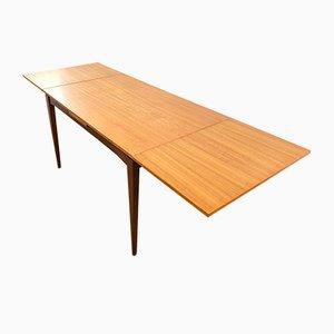 Mid-Century Danish Extendable Teak Dining Table