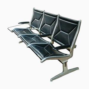 Tandem Sofa von Charles & Ray Eames für Vitra, 1960er