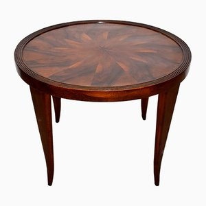 Round Italian Coffee Table, 1940s