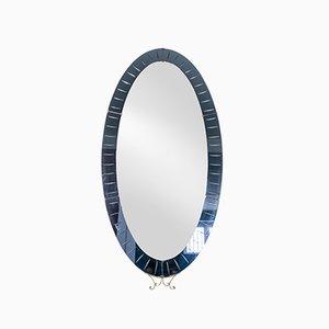 Specchio di Pierluigi Colli per Cristal Art, anni '50