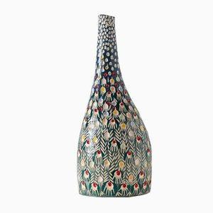 Peacock Bird Vase by Atelier Kas