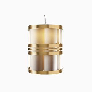 Circus Suspension Brass Lamp by Utu Soulful Lighting